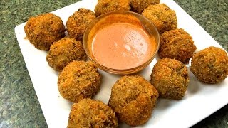 How To Make Boudin Balls ~ Homemade Boudin Recipe