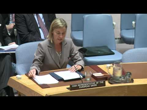 Mogherini's speech at UN Security Council - Annual Briefing on EU-UN relations