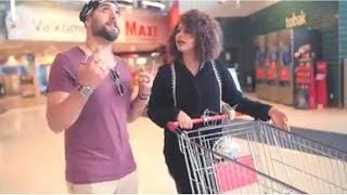 سمر جابر samar jaber مع عمر القيسي omer alqaisy في خمس اشياء مستحيل البنت تسويهم