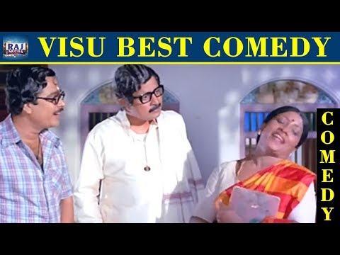Visu Best Comedy | Galatta Comedy Collection | Visu Movie Comedy | Raj Movies