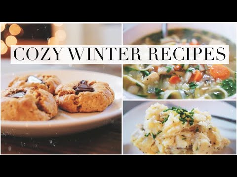 Cozy + Healthy Holiday Recipes!