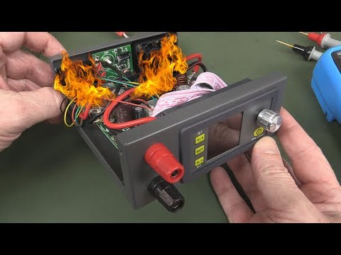 EEVblog #1035 - Flaming DIY Power Supply!