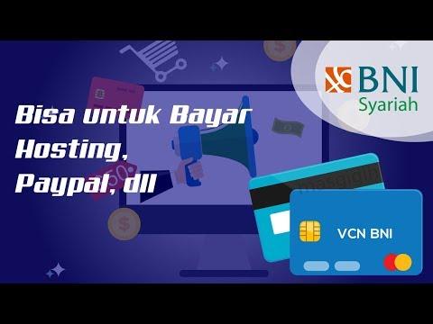 Cara Membuat VCN BNI Syariah di Mobile Banking. Bisa untuk Paypal, dll