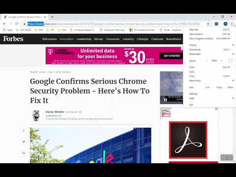 Google Chrome CVE-2019 Vulnerability Exploit