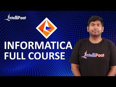 Informatica Training | Informatica Tutorial | Intellipaat - YouTube