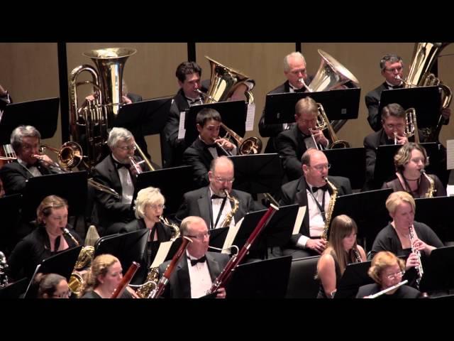 Austin Symphonic Band Performing Cajun Folk Songs by Frank Ticheli
