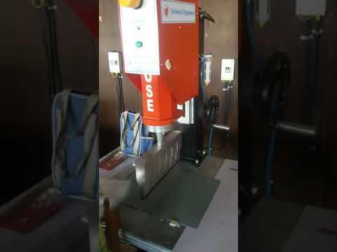 Ultrasonic Plastic Welding Machine For File