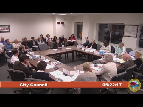 City Council Budget Work Session 5.22.2017