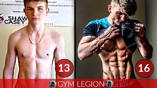 Ryan Casey DOPE 3 YEAR Natural Transformation 13-16 Years (Motivation)