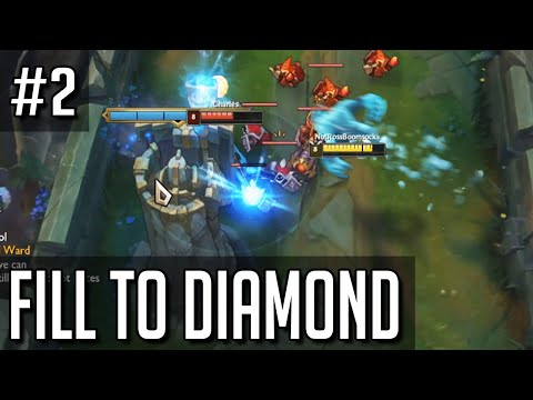 League of Legends but intentionally filling to diamond is somehow working