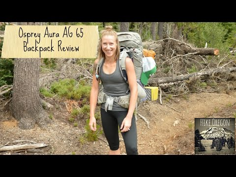 Osprey Aura AG 65 Backpack review