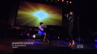 "Jennifer Hudson Ft. Alicia Keys ""Angel"""