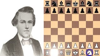 Paul Morphy's Lonely Chess Knight