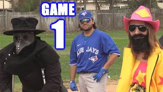 HALLOWEEN! | Offseason Softball Series | Game 1