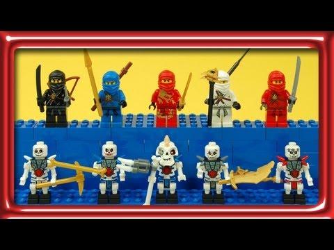 Vidéo LEGO Ninjago 2257 : Tournoi d'initiation