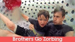 BROTHERS GO ZORBING | 1 Year Anniversary