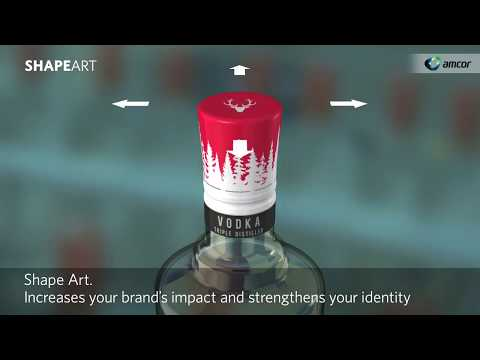 Amcor's ShapeArt Aluminum Closure Innovation