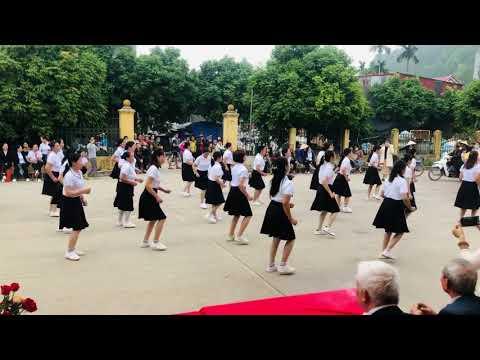 Điệu nhảy 9 bước CLB thôn Vân cốc 1 vân trung việt yên Bắc Giang