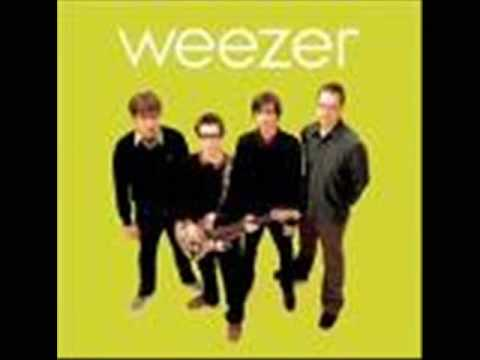 Weezer-Don't Let Go w/ Lyrics