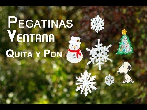 Pegatinas de Ventana Removibles para Decoracion o Quita y Pon