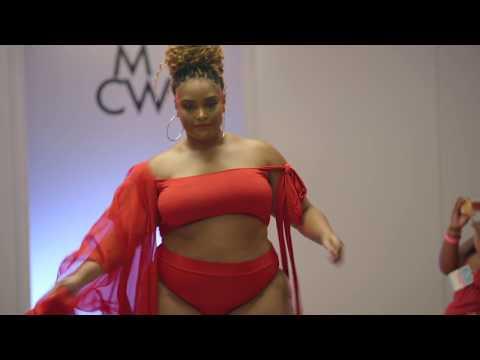 Miami Curves Week+ Charity Red Swim Runway Show Full Version