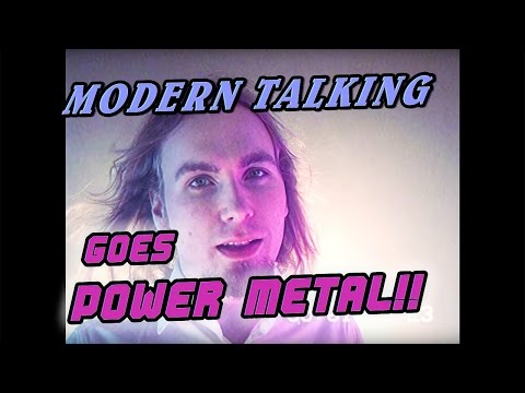 You're My Heart You're My Soul MODERN TALKING(METAL cover by BATTLEDRAGON)