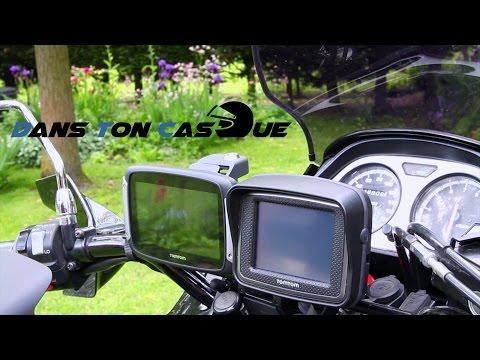 Test GPS Moto Tomtom Rider 400 Premium 👉 DansTonCasque