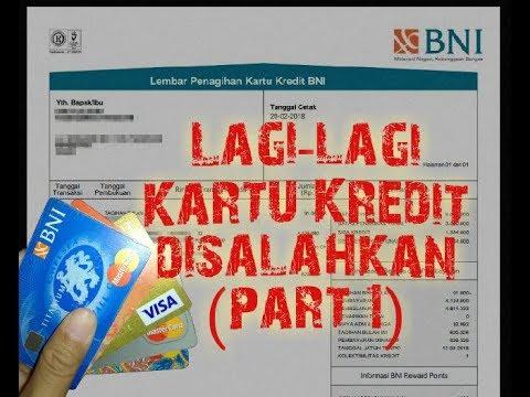 Cara Memahami Surat Tagihan Kartu Kredit BNI