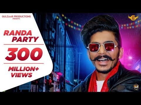 GULZAAR CHHANIWALA - RANDA PARTY ( Official Video ) | Latest Haryanvi Song 2020