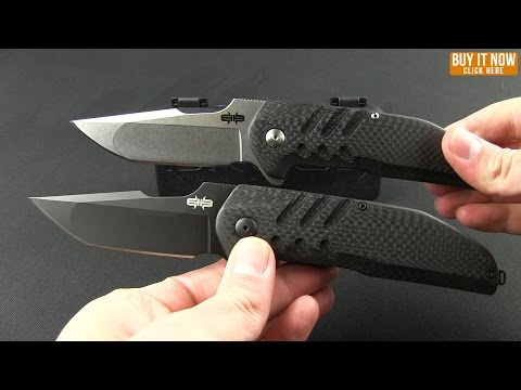 "Brous Blades Turpin Strife Flipper Knife Carbon Fiber (3.75"" Blackout)"