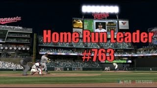 MLB 12 Road to the Show 1B - All Time Home Run Leader!
