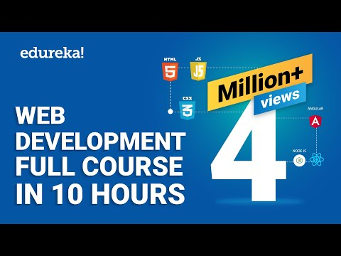 web design tutorial full course by edureka