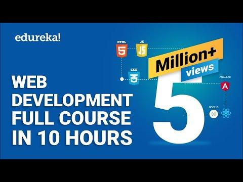 Download Web Development Full Course - 10 Hours | Learn Web Development from Scratch | Edureka Mp4 HD Video and MP3