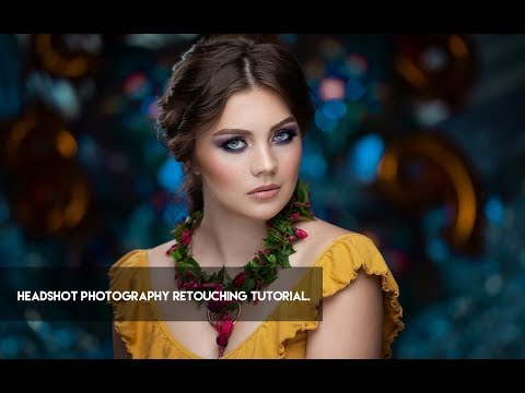 photo retouching tutorial for both men and women by rafal wegiel