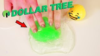 MIXING DOLLAR STORE SLIMES IN CLEAR SLIME ~ Slimeatory #491