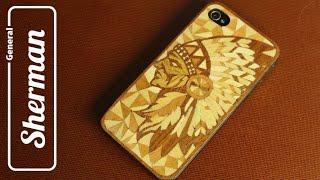 Чехол для смартфона из дерева