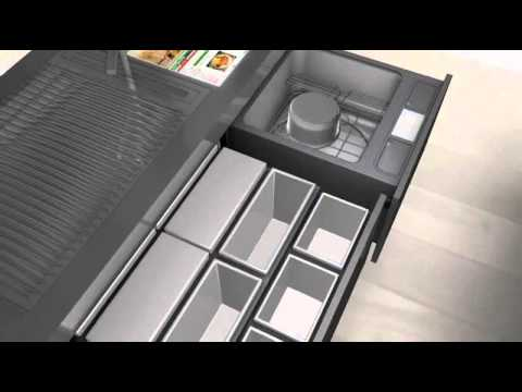 Electronic Drawers and Designer Door Handles from Hettich