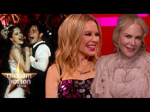 Nicole Kidman a Kylie Minogue vzpomínají na Moulin Rouge - The Graham Norton Show