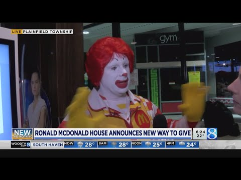 New way to donate to Ronald McDonald House