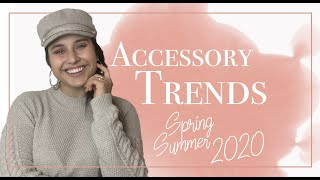 Accessory And Jewelry Trends Spring Summer 2020