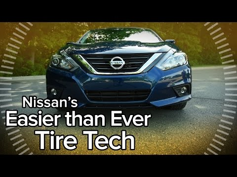 How the 2016 Nissan Altima's Easy Fill Tires Work - Feature Focus