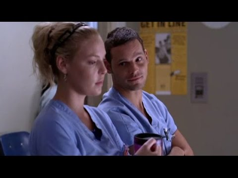 2x8 Izzie and Alex finding romance