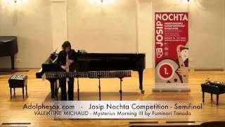 JOSIP NOCHTA COMPETITION VALENTINE MICHAUD Mysterius Morning III by Fuminori Tanada