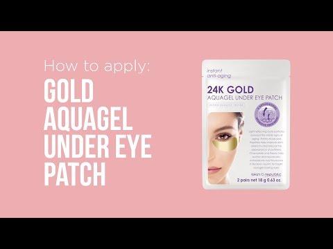 Skin Republic Gold Aquagel Under Eye Patches (Sheet-Mask, 18ml)