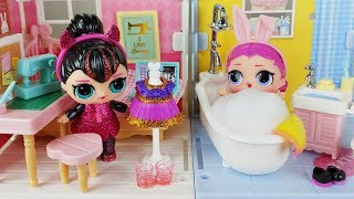 Baby doll house and LoL Surprise Doll toys play - ToyMong TV 토이몽