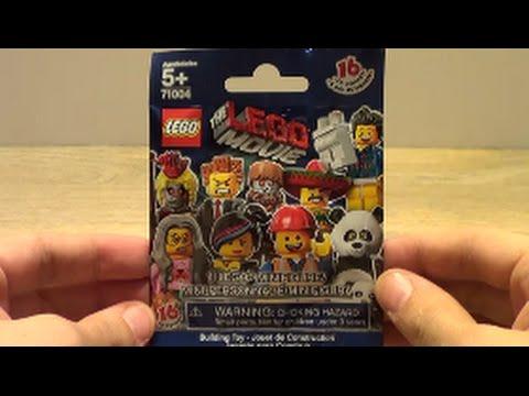 Vidéo LEGO Minifigures 71004 : Série La Grande aventure LEGO