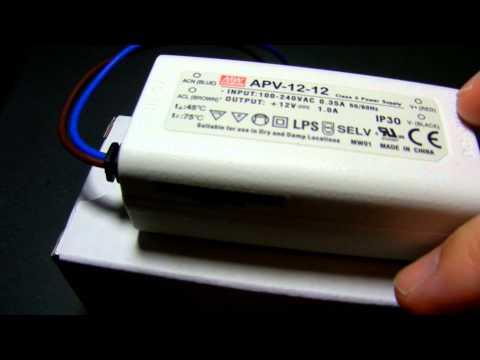 110v AC to 12v DC Power Converter WWW.RAPIDRELAYS.COM