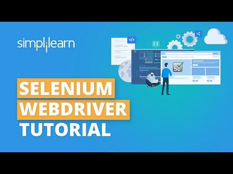 Selenium Webdriver Tutorial   Selenium Training   Simplilearn