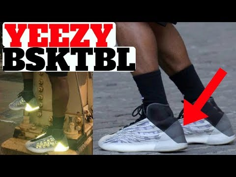 YEEZY BASKETBALL SHOE MIGHT SAVE THE DAY...