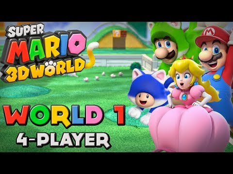 Super Mario D World Players
